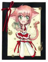 Christmas card by Erikor
