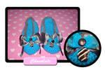 Chocolate slippers