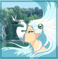 Heron by Erikor