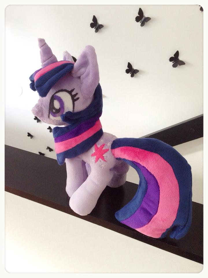 Twilight sparkle plush by Erikor