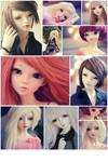 My dolls by Erikor