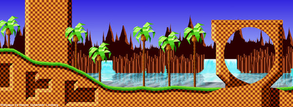 Green Hill Zone Wallpaper By Cyberblade On Deviantart