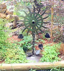 Scrap Art Whatchamacallit Sunflower by RecycledSalvage