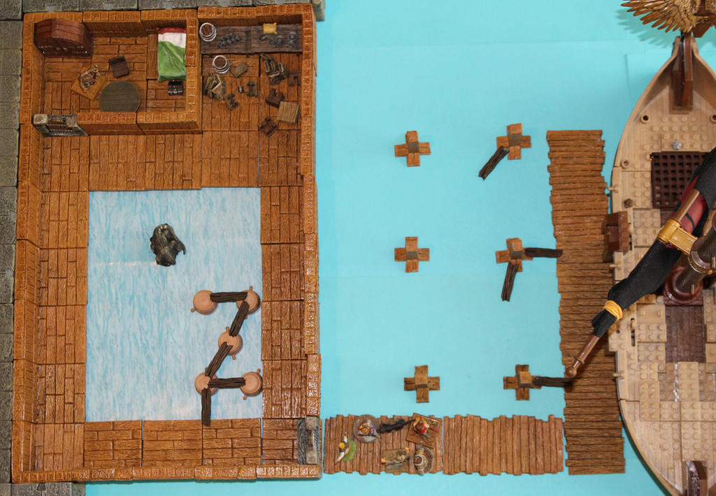 Old fishery lower floor overview by MrVergee