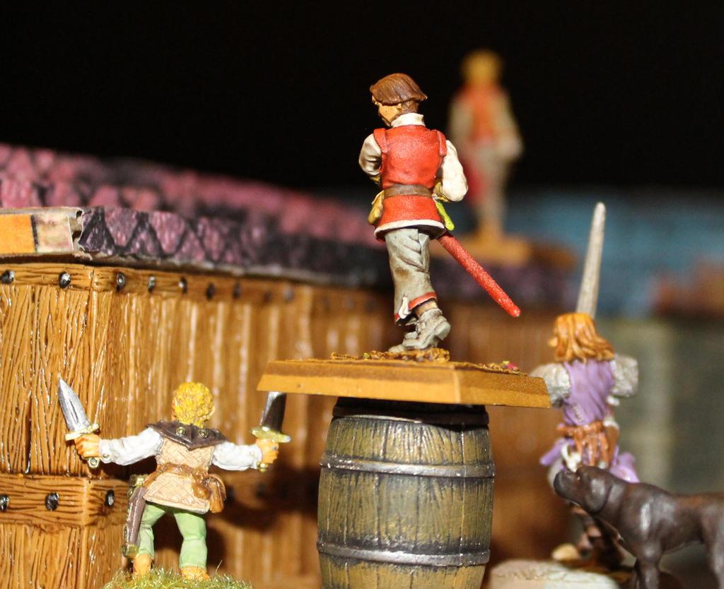 Shingle chase in Korvosa by MrVergee