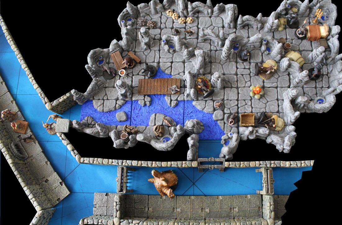 Korvosa wererat sewer dens by MrVergee