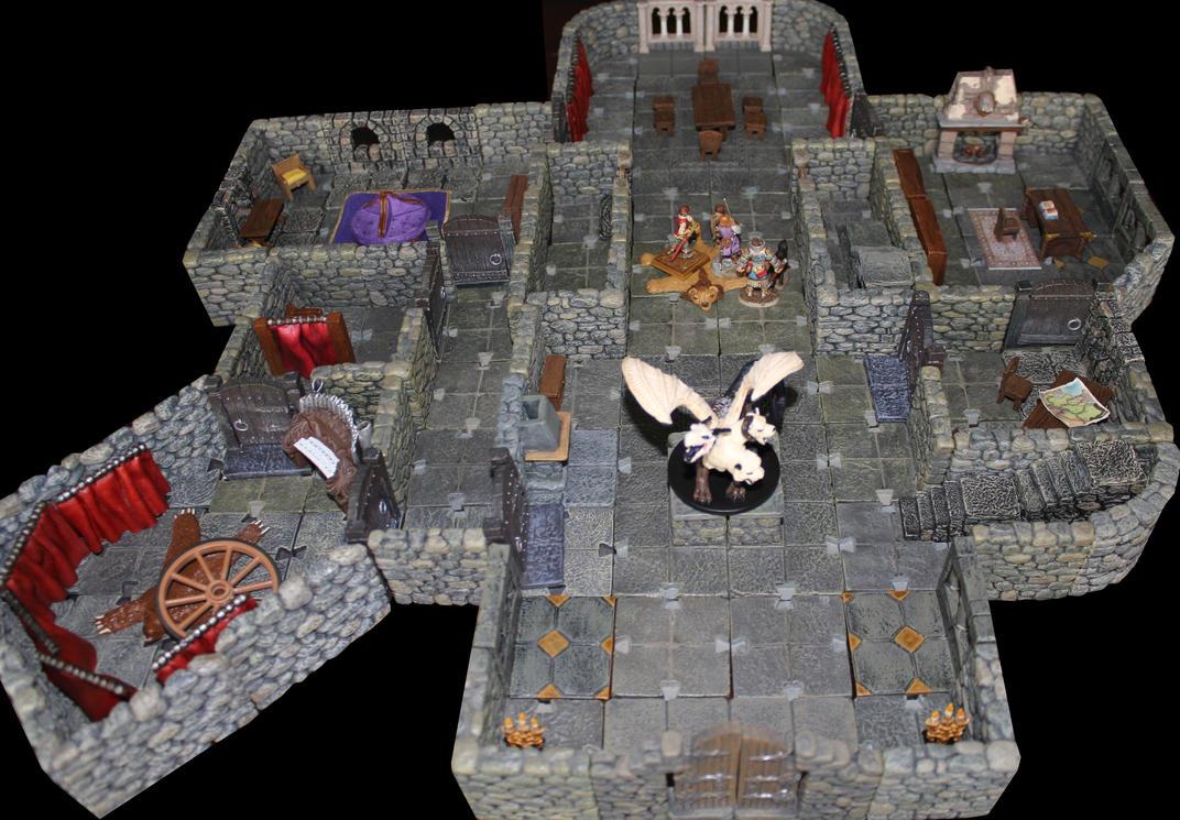 Pathfinder Foxglove manor to Lost End ground floor by MrVergee