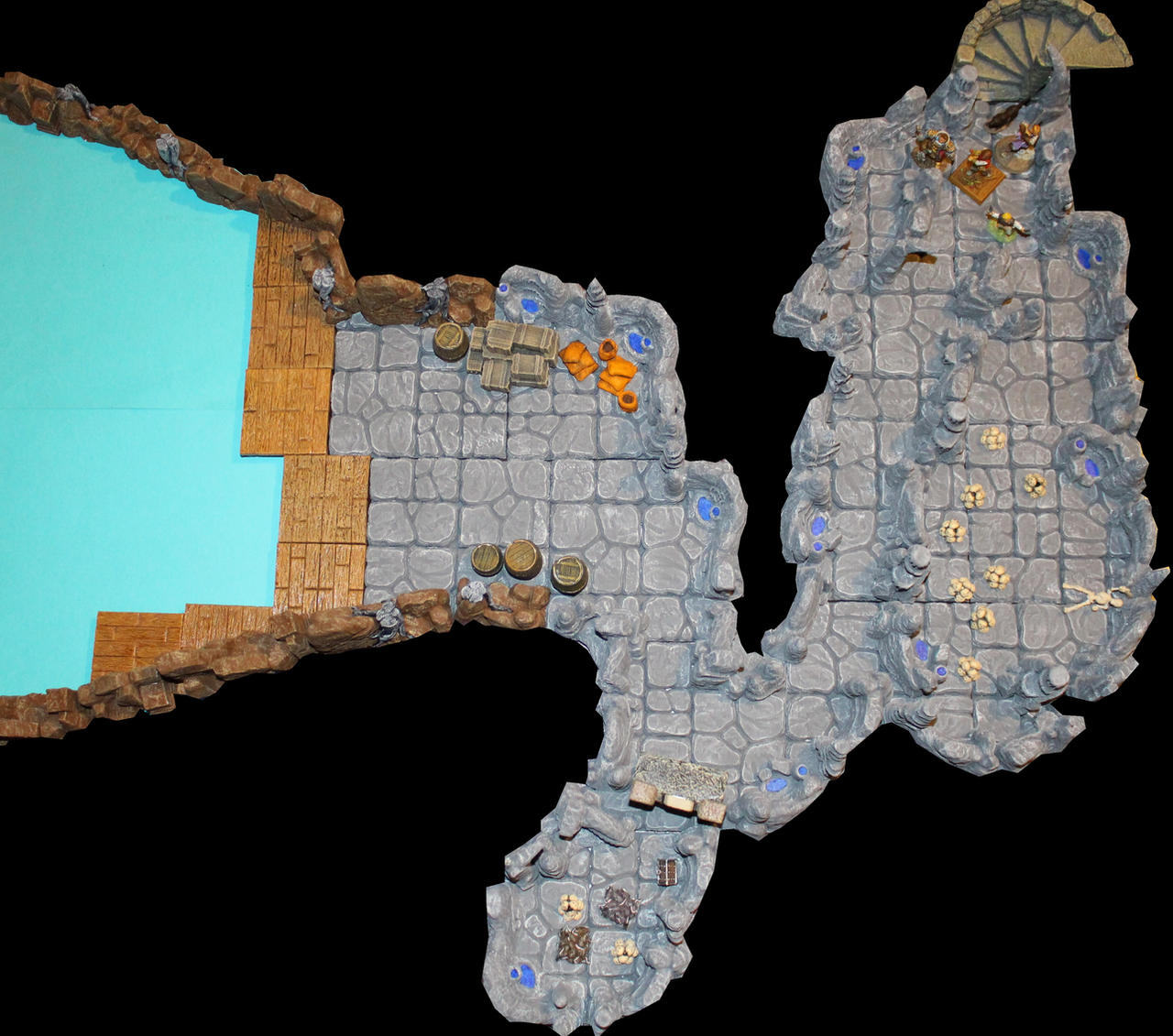 Pathfinder Foxglove manor to Lost End cave by MrVergee