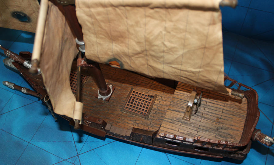 Mega bloks ship conversion Cutlass Stormstalker by MrVergee