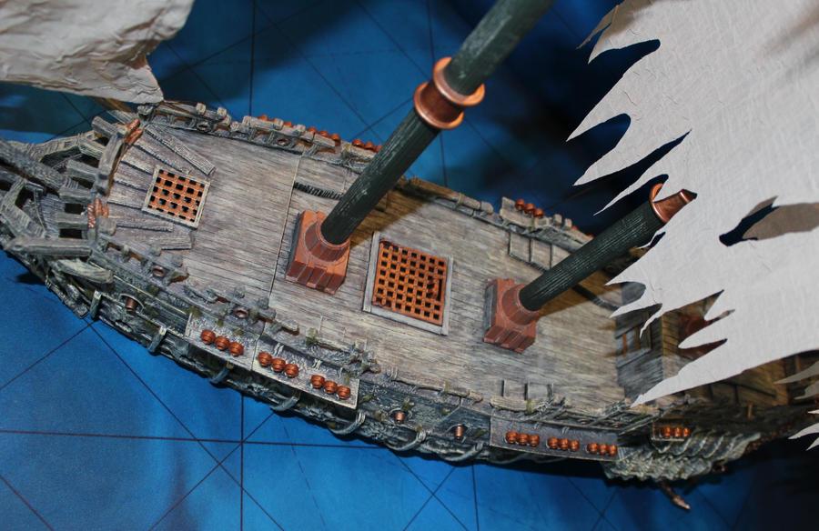 Mega bloks ship conversion Flying Dutchman by MrVergee