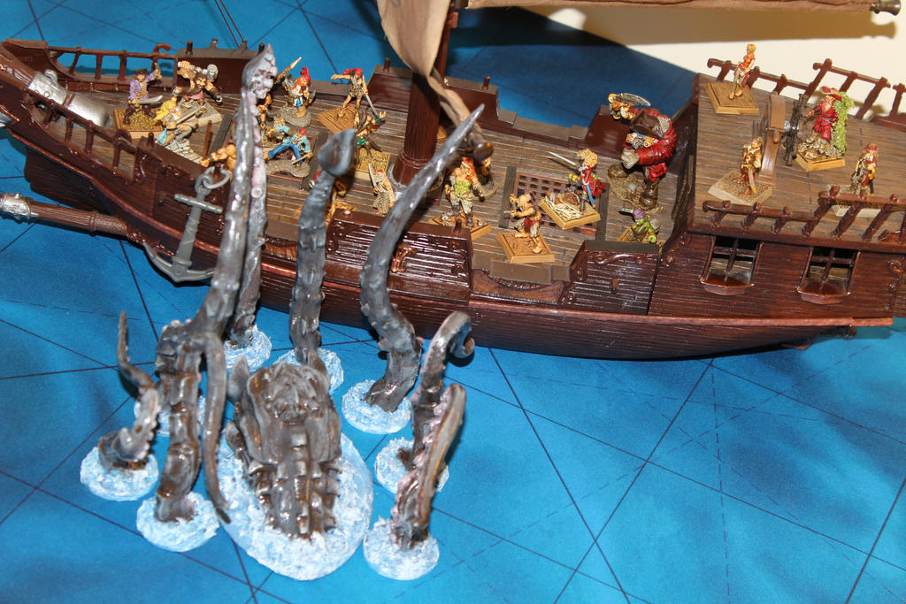 Kraken conversion attacks Stormstalker by MrVergee