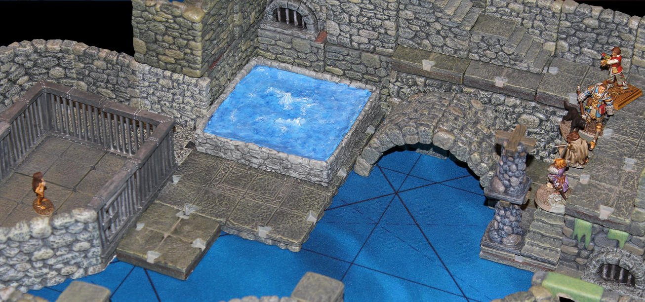 Otyugh sewer pit Korvosa by MrVergee