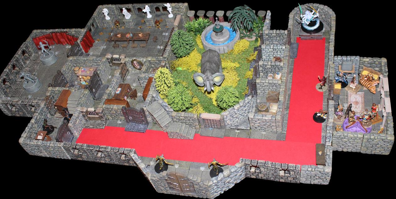 Arkona palace in Old Korvosa by MrVergee