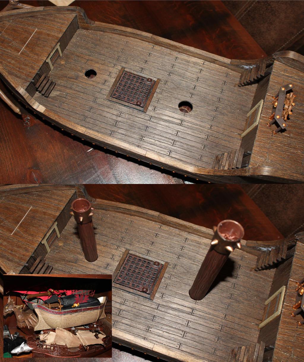 Mega Bloks pirate ship conversion deconstruct by MrVergee