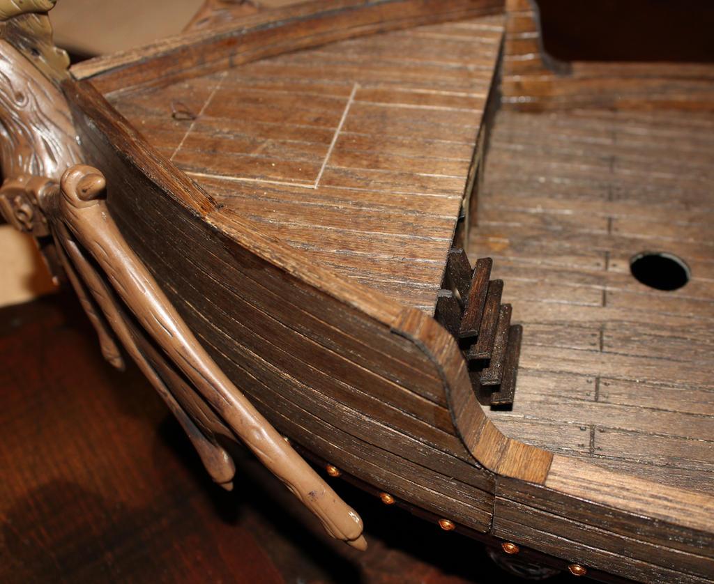Mega Bloks pirate ship conversion pliable veneer by MrVergee