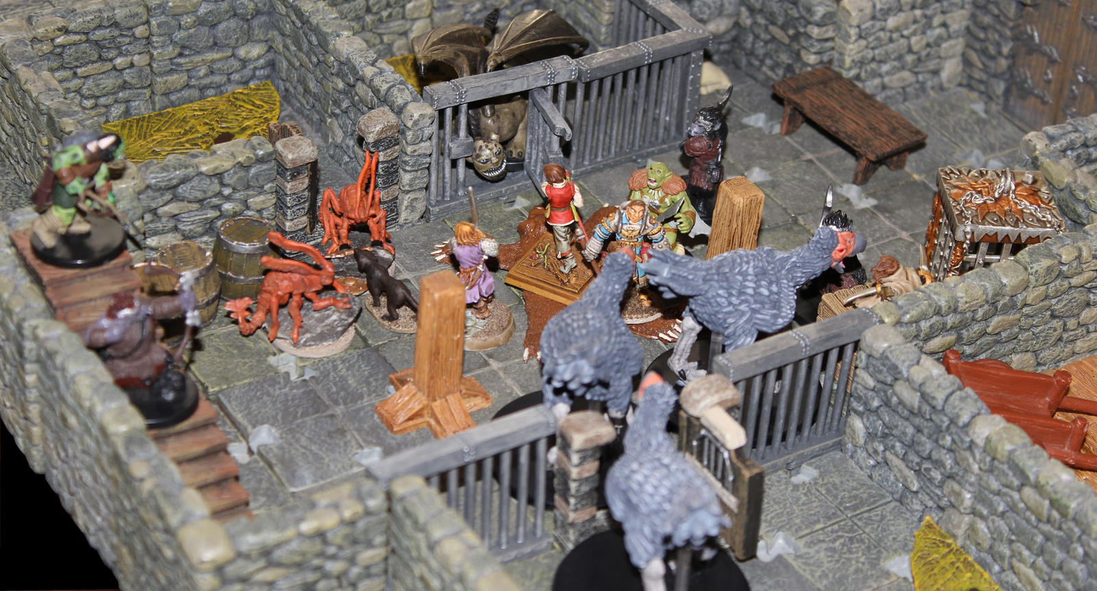Orc ambush in Urgir by MrVergee