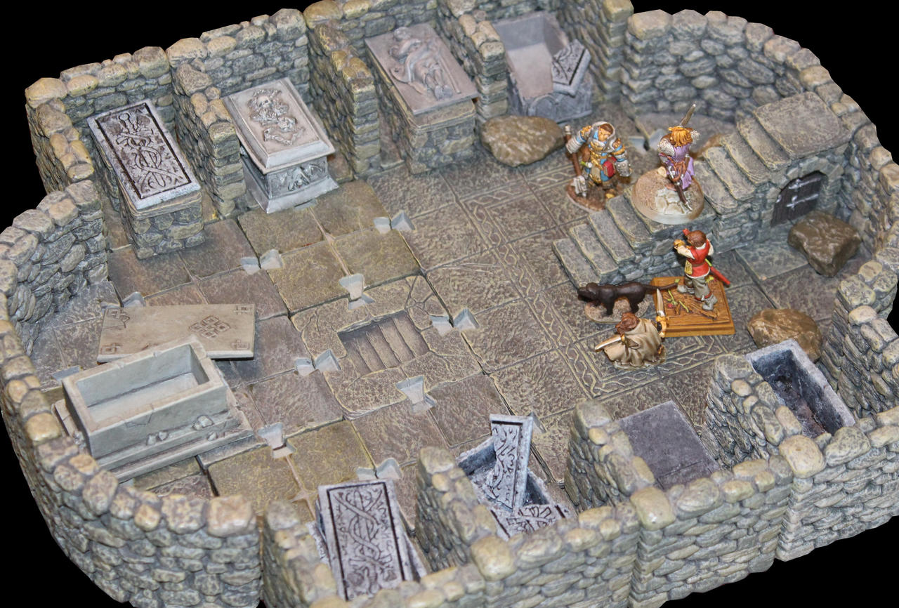 Urgir tomb Level 1 by MrVergee