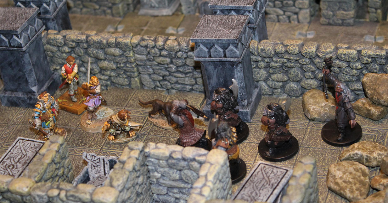 Urgir tomb Level 3 by MrVergee