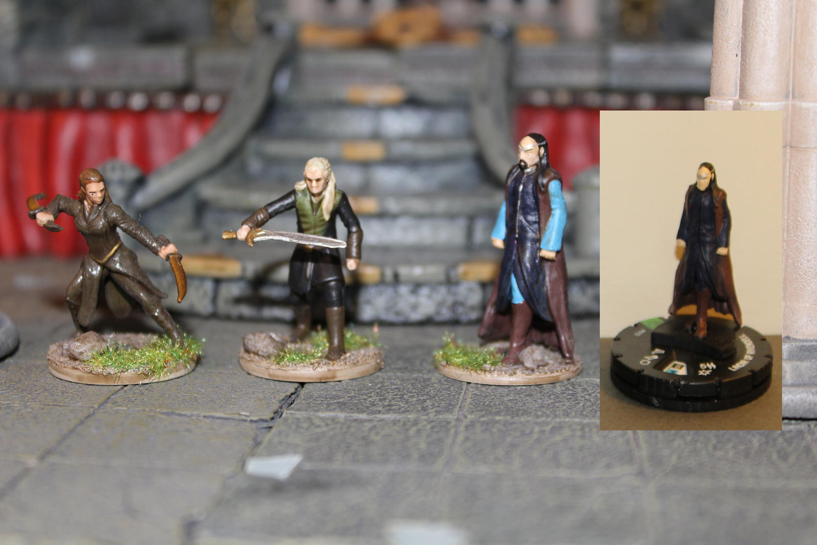 Heroclix conversion repaint rebase 12 by MrVergee