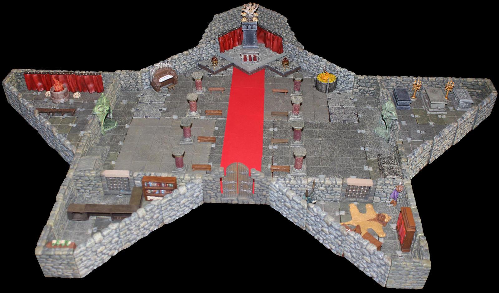 Temple of Asmodeus in Korvosa by MrVergee