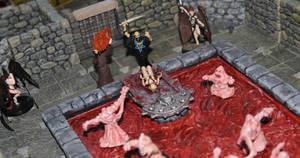 Bloody sacrifice for Asmodeus