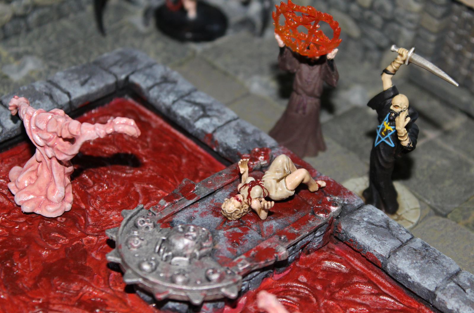 Bloody sacrifice for Asmodeus 2 by MrVergee