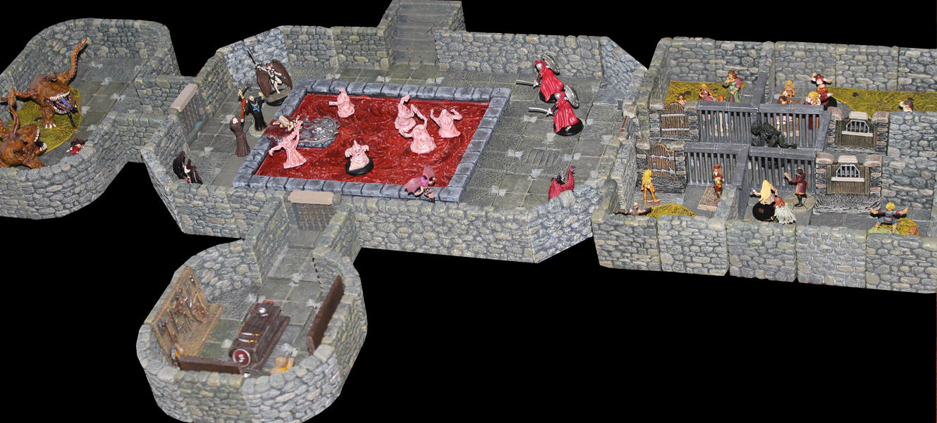 Asmodean catacombs blood sarcifices by MrVergee