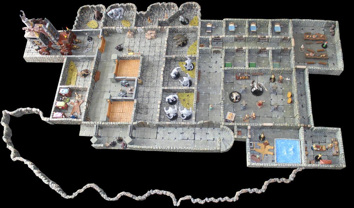 Kendall arena catacombs Korvosa by MrVergee