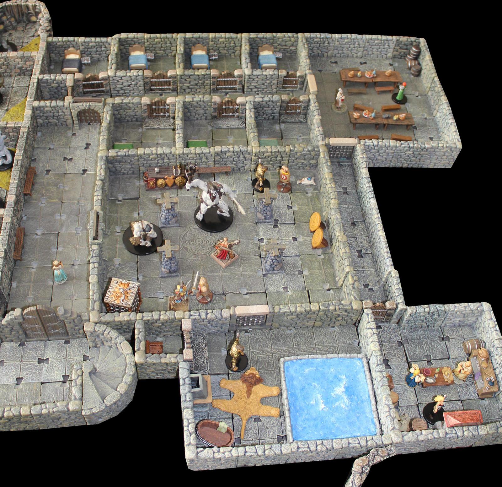 Kendall arena Korvosa gladiator cells by MrVergee