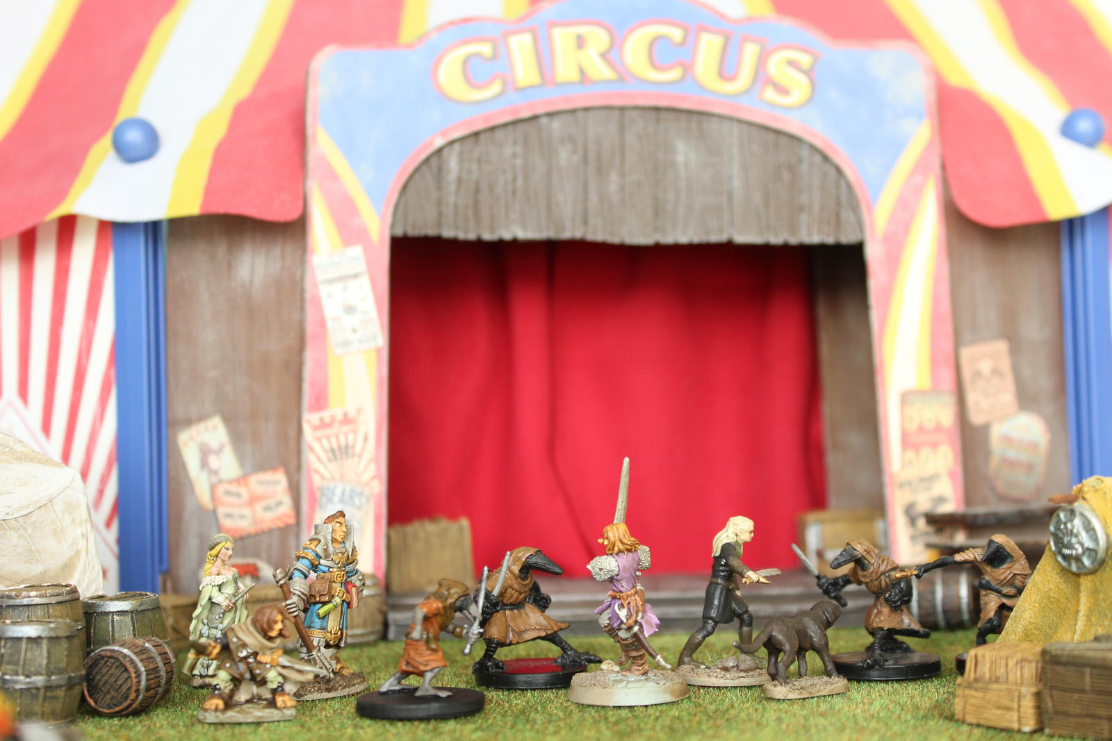 Pathfinder The Harrowing Midnight Circus 2 by MrVergee