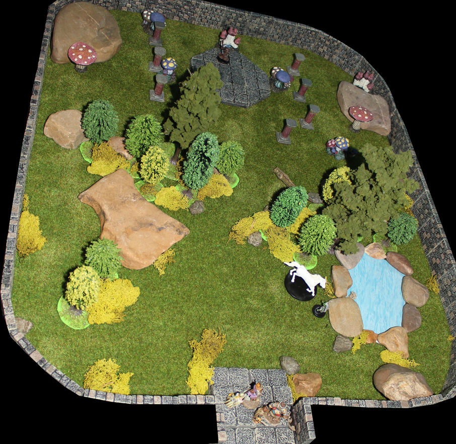 Pathfinder Harrowing The Prophet's Garden by MrVergee