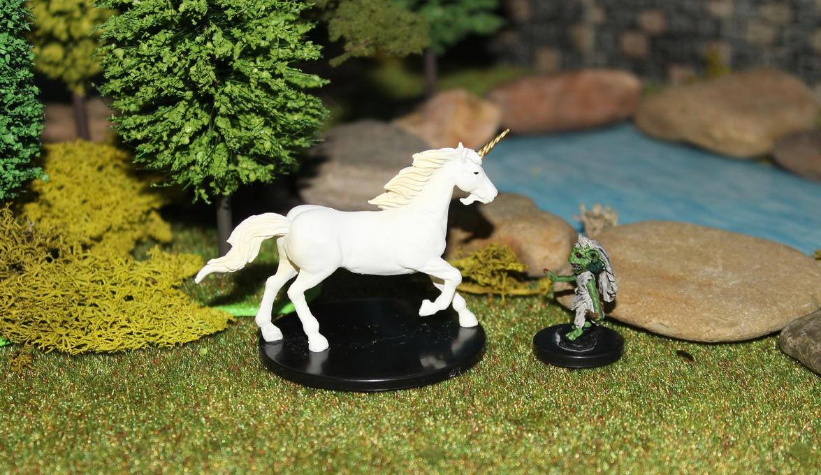 Pathfinder Harrowing The Prophet's Garden Unicorn by MrVergee