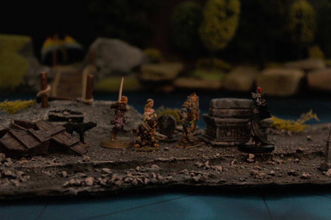 Pathfinder Harrowing Demon's Fen Barrow King 2 by MrVergee