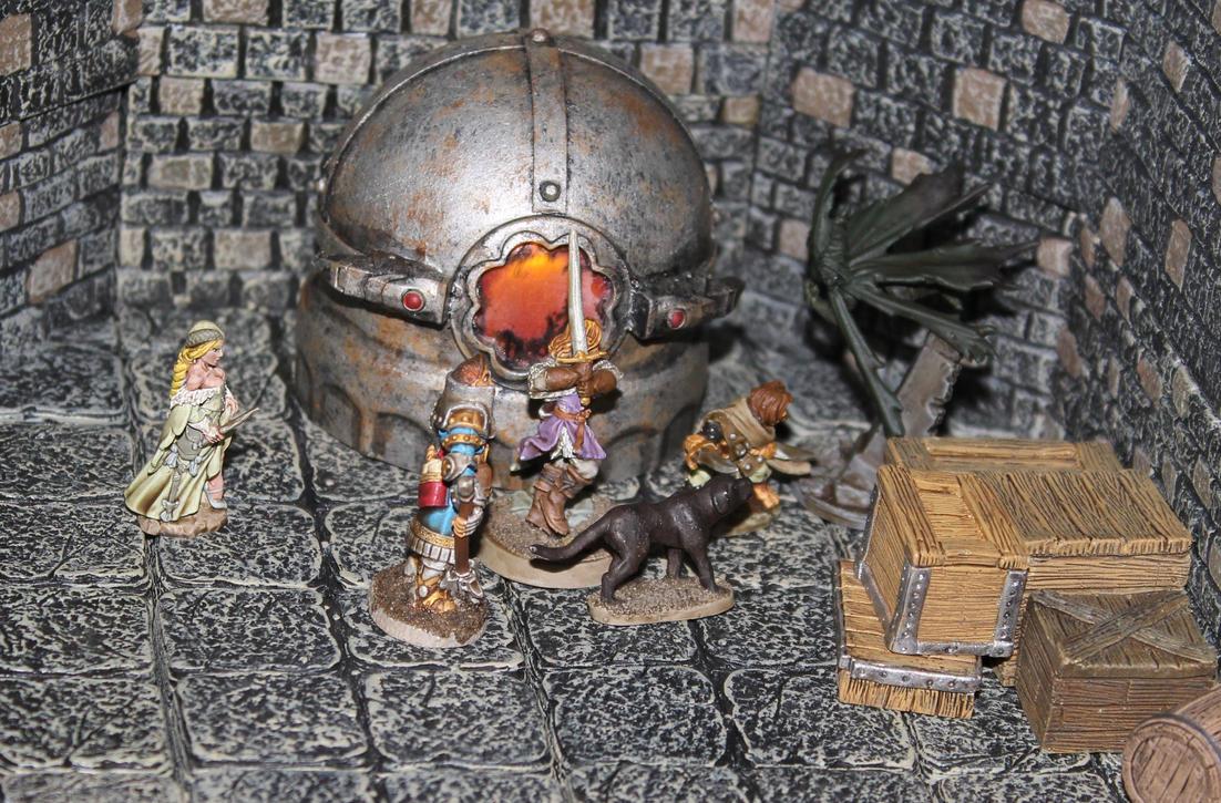 Pathfinder Harrowing Ticktock Man by MrVergee