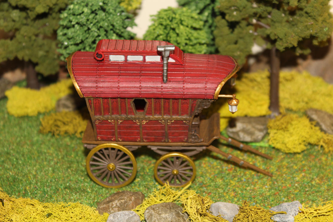 Ezmeralda's wagon Dungeons and Dragons conversion by MrVergee