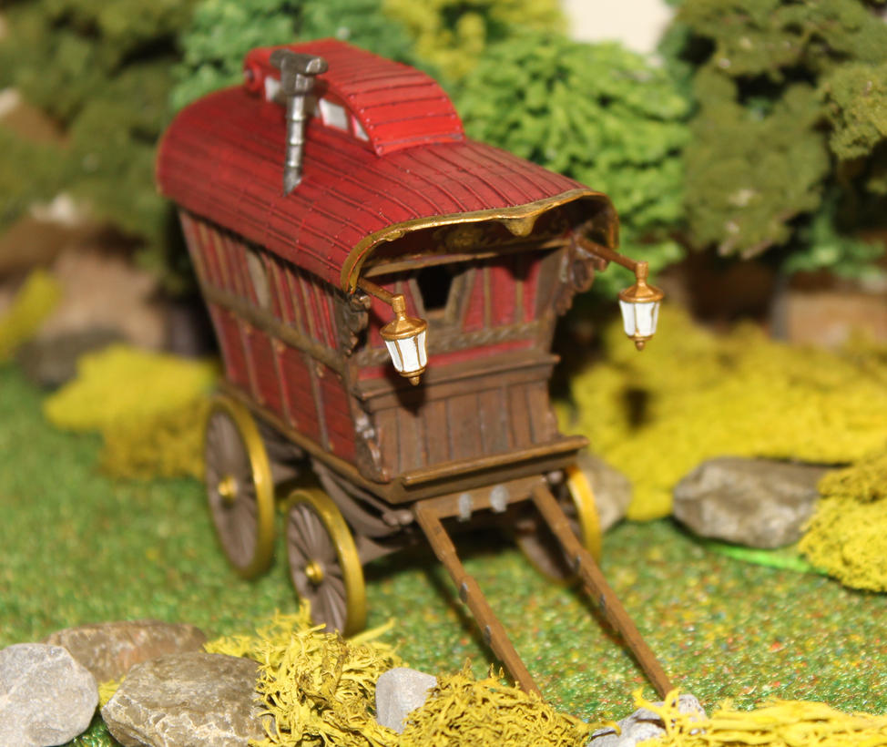 Ezmeralda's wagon Dungeons and Dragons converion 2 by MrVergee