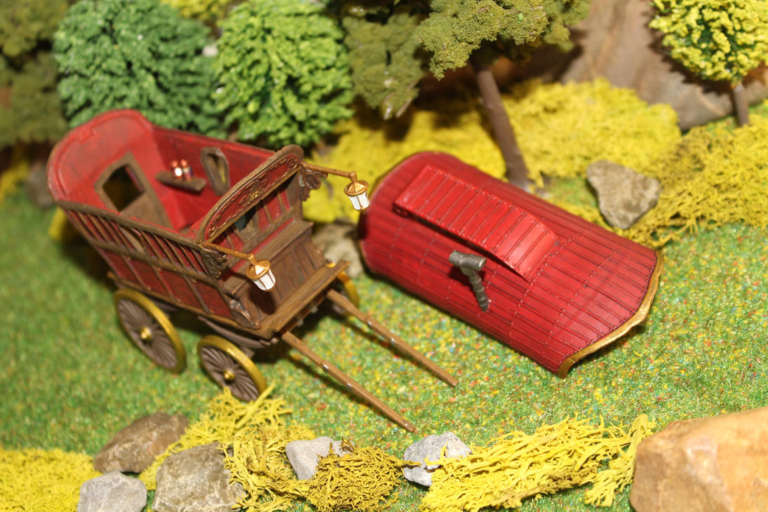 Ezmeralda's wagon Dungeons and Dragons converion 3 by MrVergee
