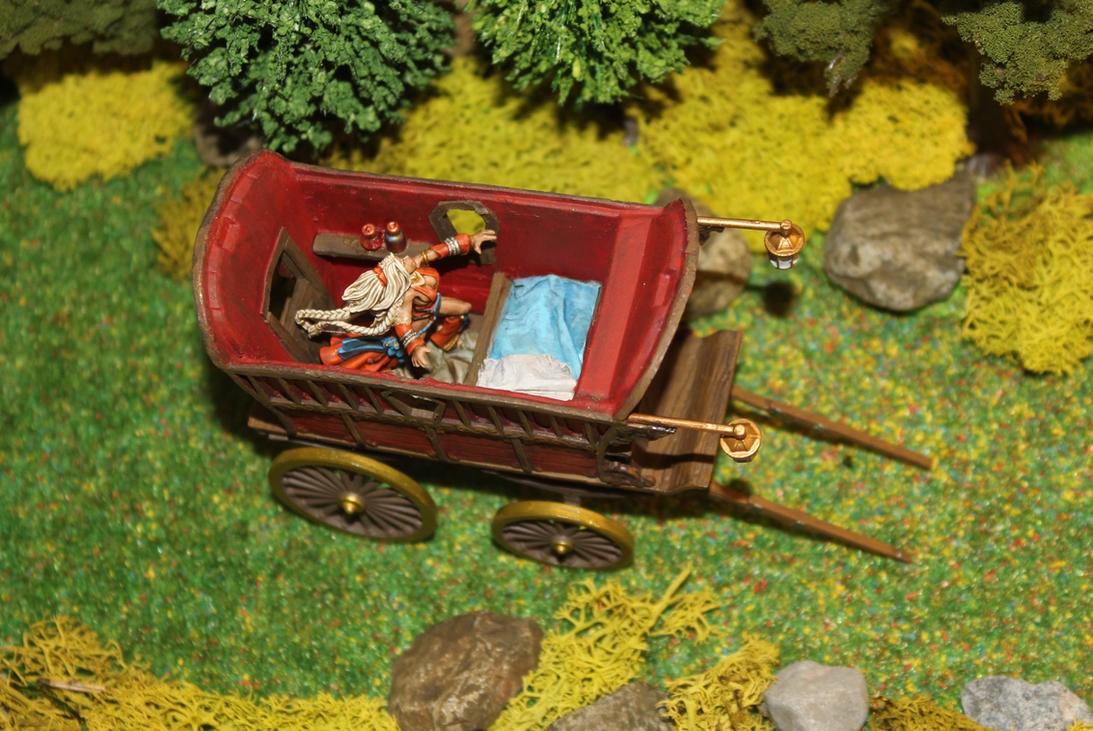 Ezmeralda's wagon Dungeons and Dragons converion 4 by MrVergee