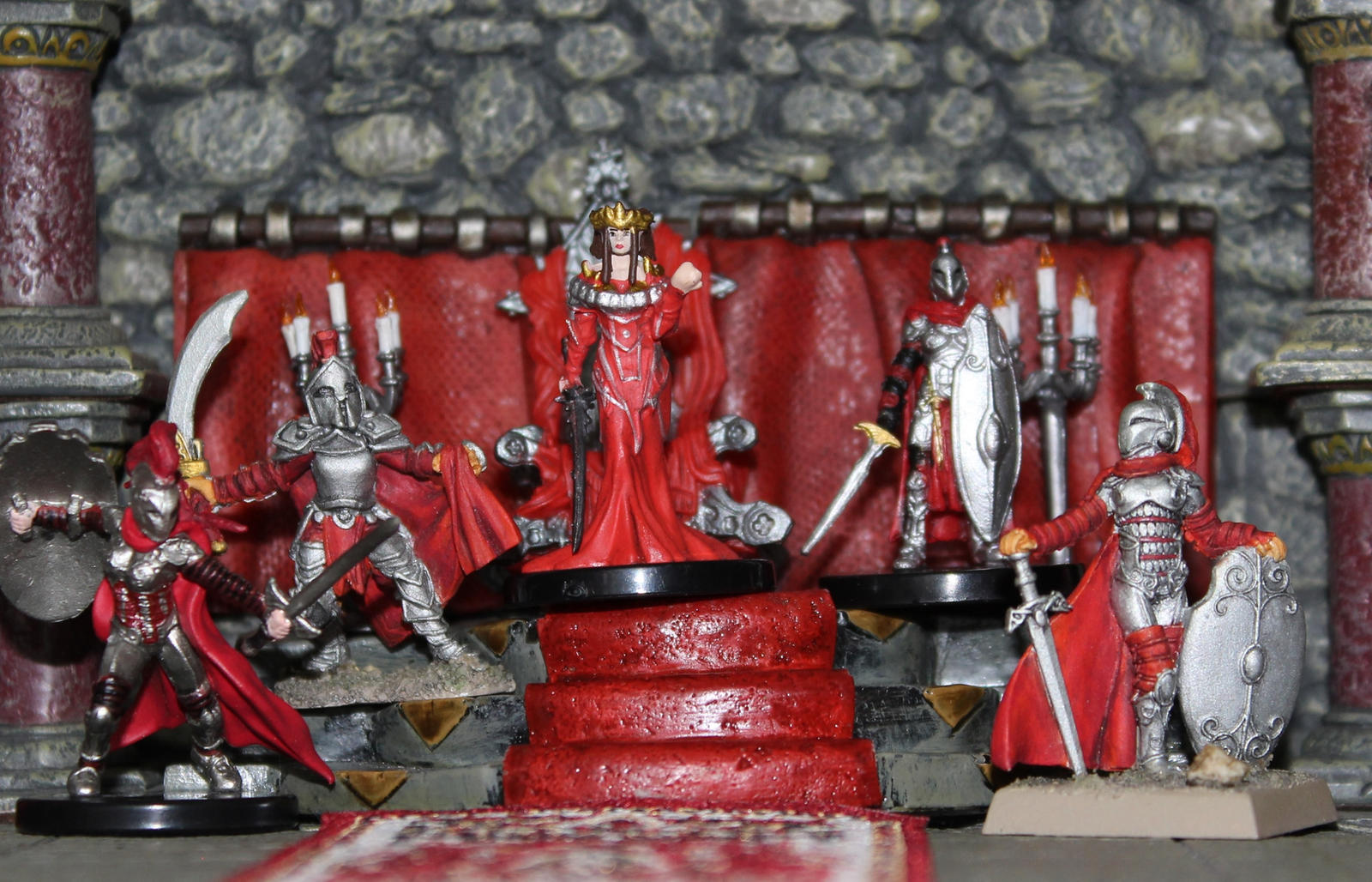 Curse of the Crimson Throne Ileosa tribute by MrVergee
