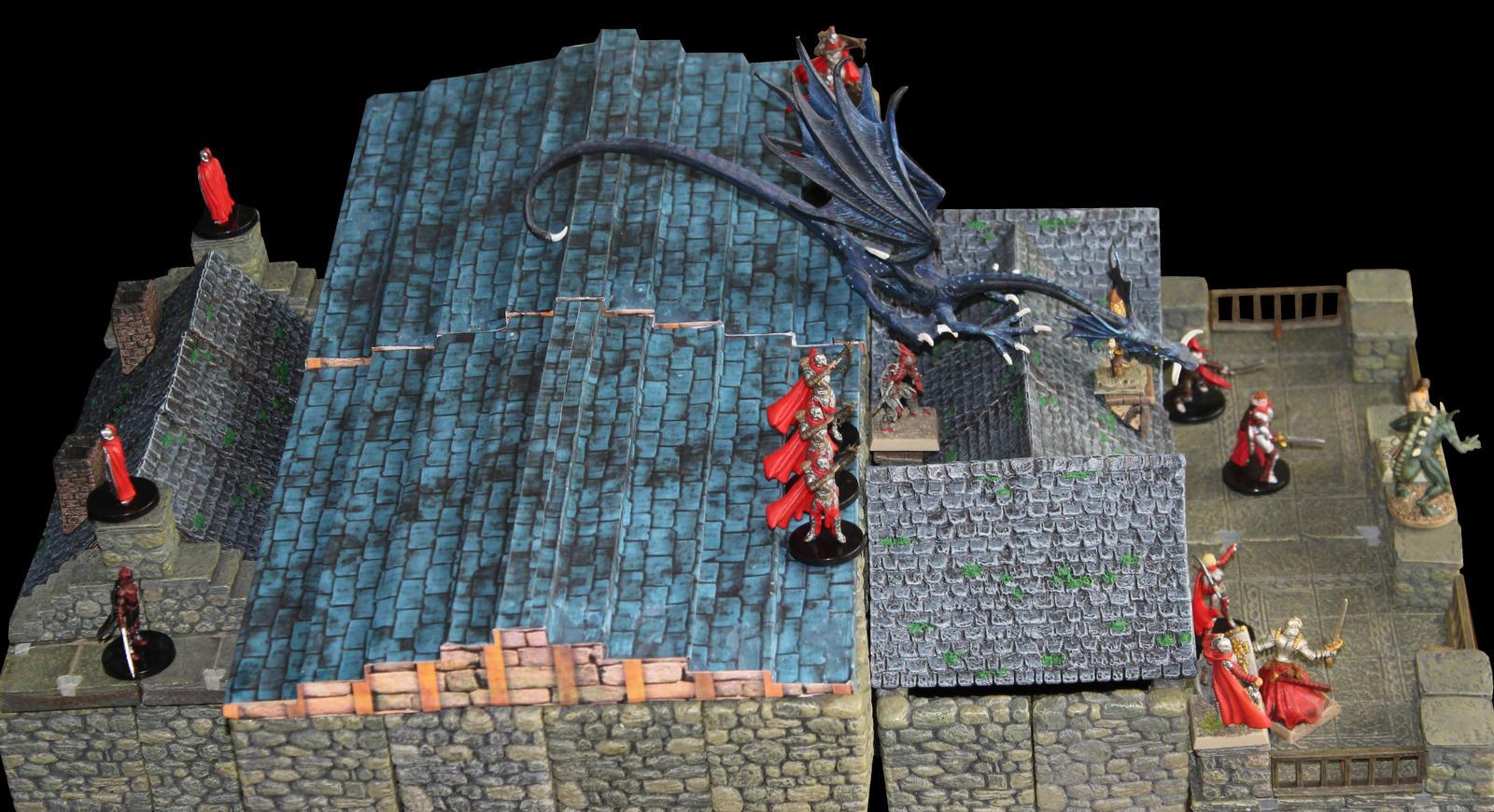 Longacre roof ambush in Korvosa by MrVergee