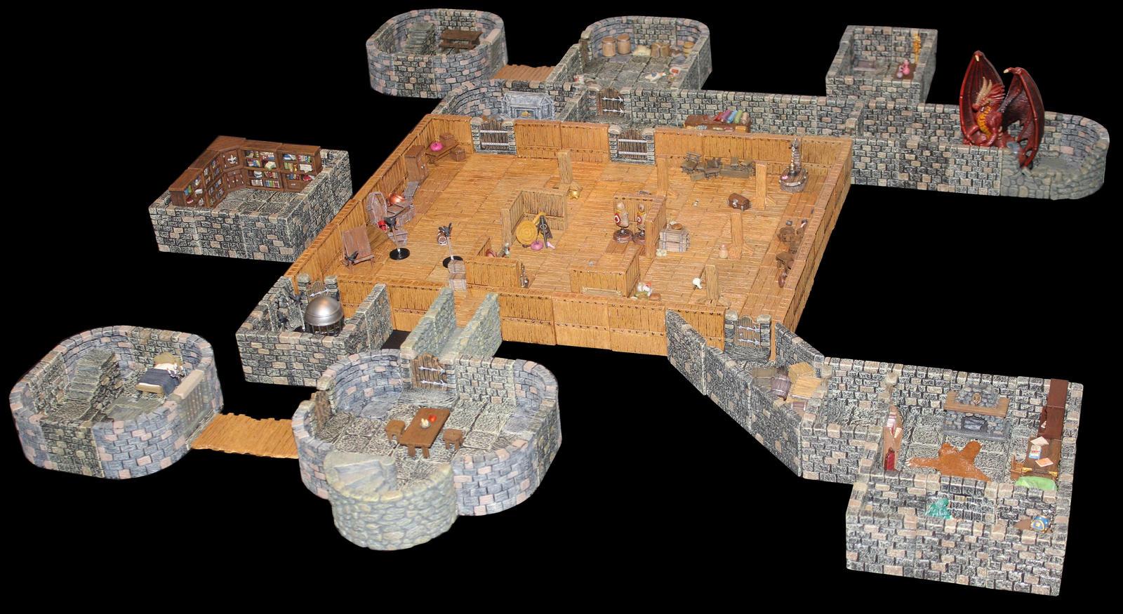 Castle Korvosa attic by MrVergee