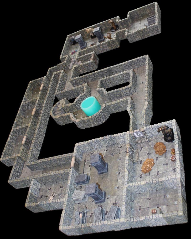 Castle Korvosa vaults by MrVergee