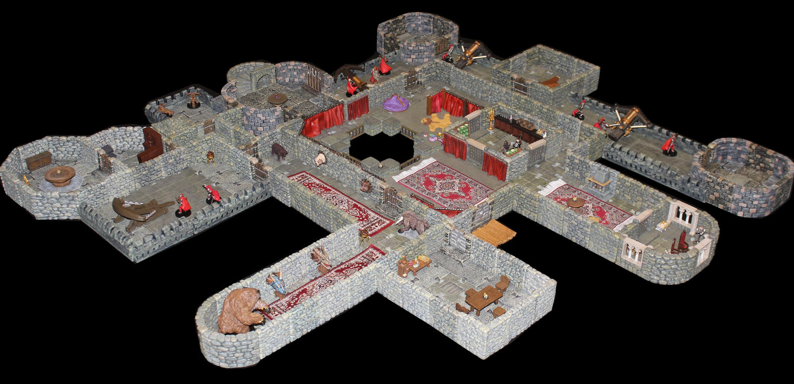 Castle Korvosa third floor angle 1 by MrVergee