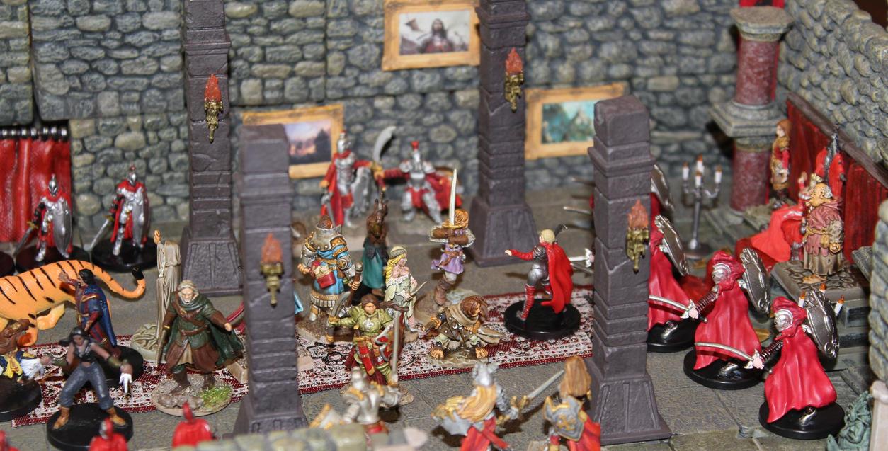 Raid on the Crimson Throne by MrVergee