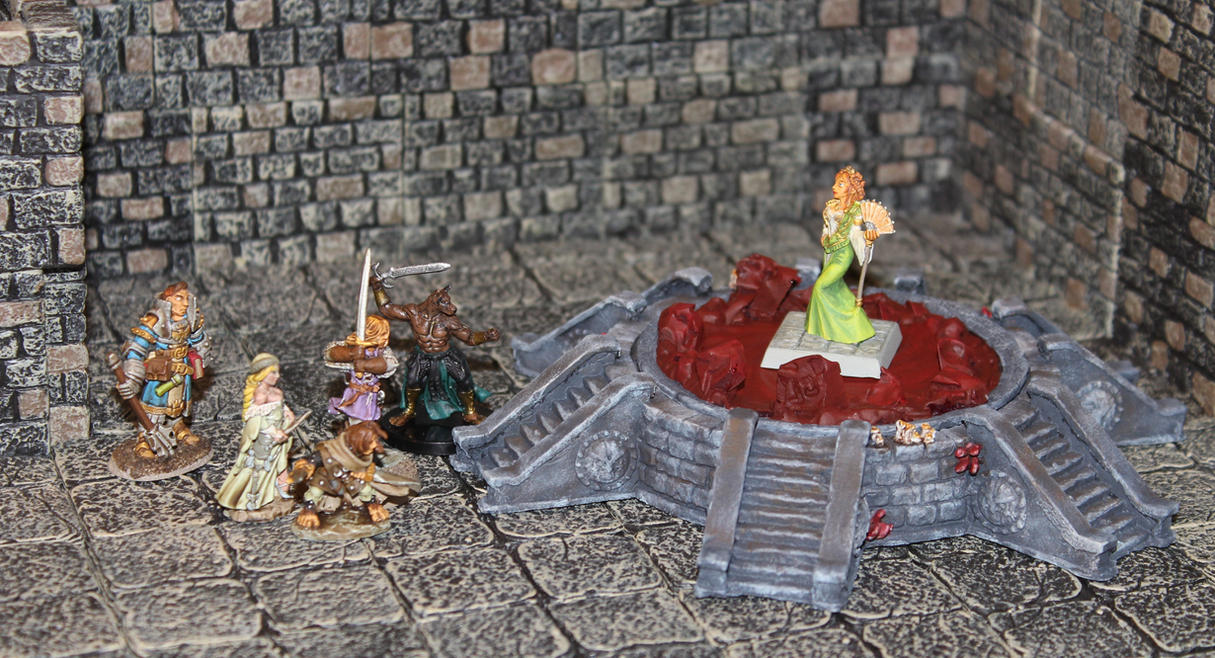 Facing Ileosa in Curse of the Crimson Throne by MrVergee