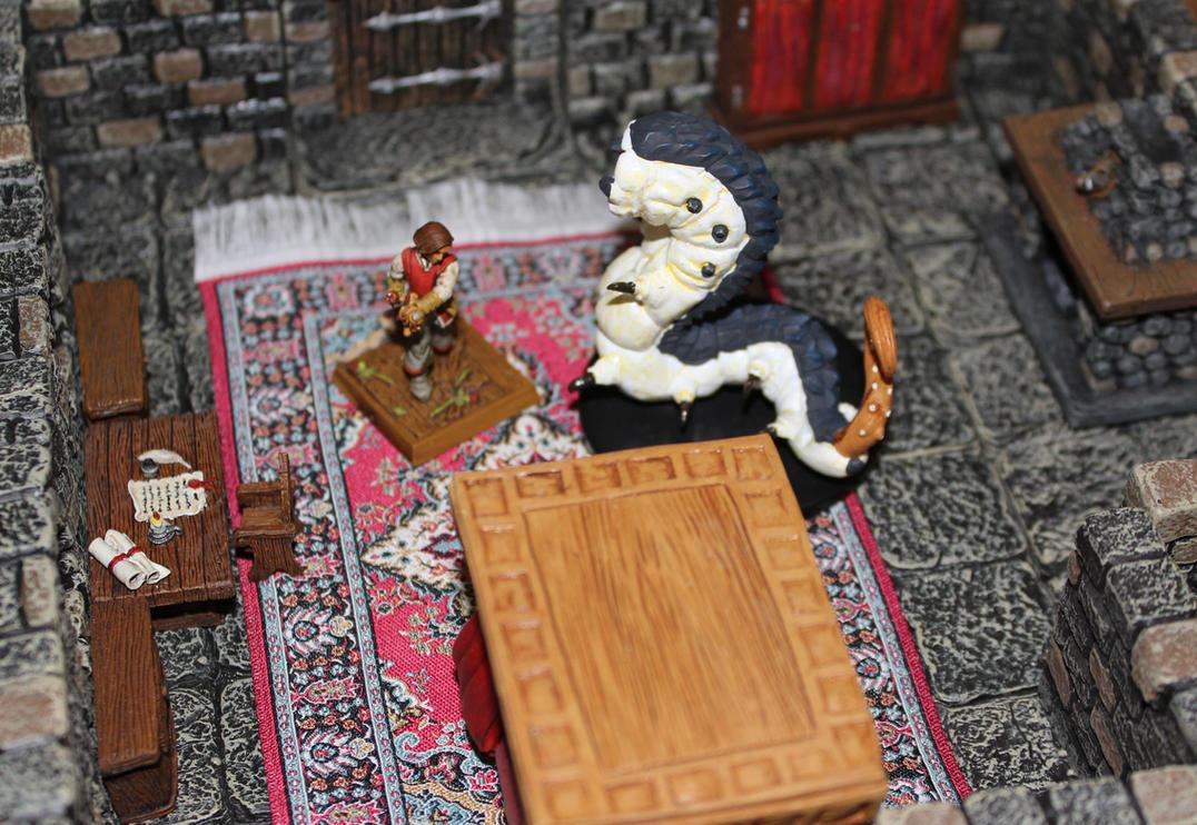 Sermignatto possesses Quint in Castle Korvosa by MrVergee