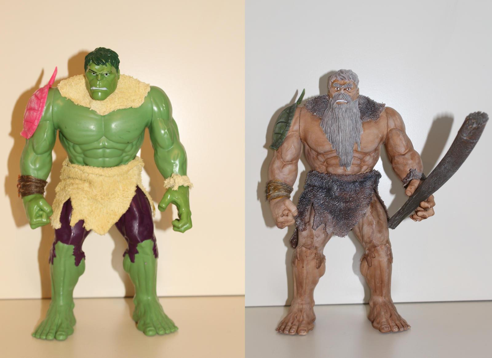 Hulk to titan conversion by MrVergee