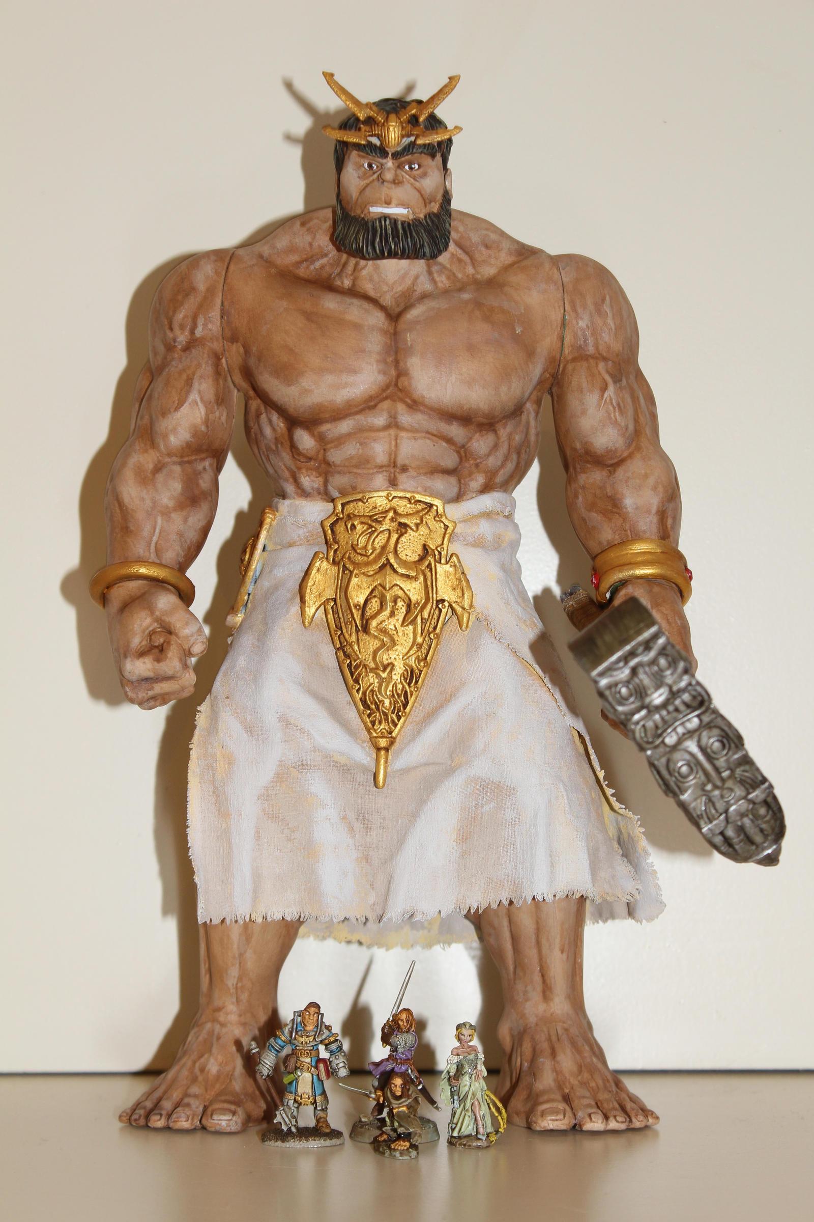 Classic titan size comparison by MrVergee
