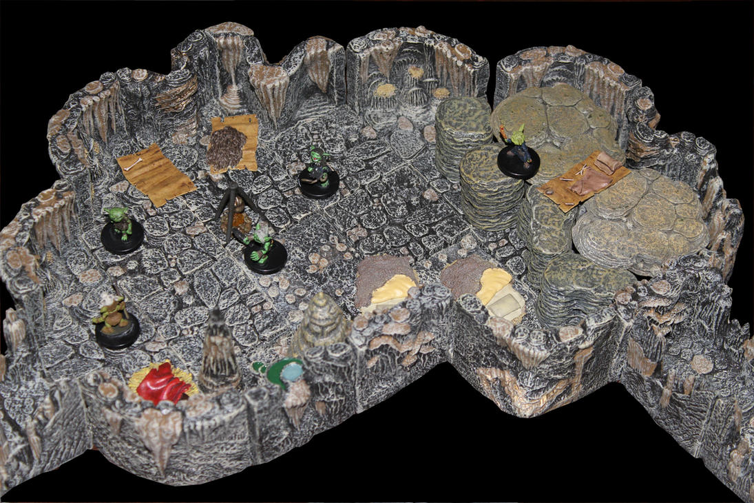 Ashen Ossuary Goblin Headquarters by MrVergee