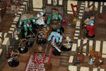 RPG Christmas one-shot toymaker ground floor fight